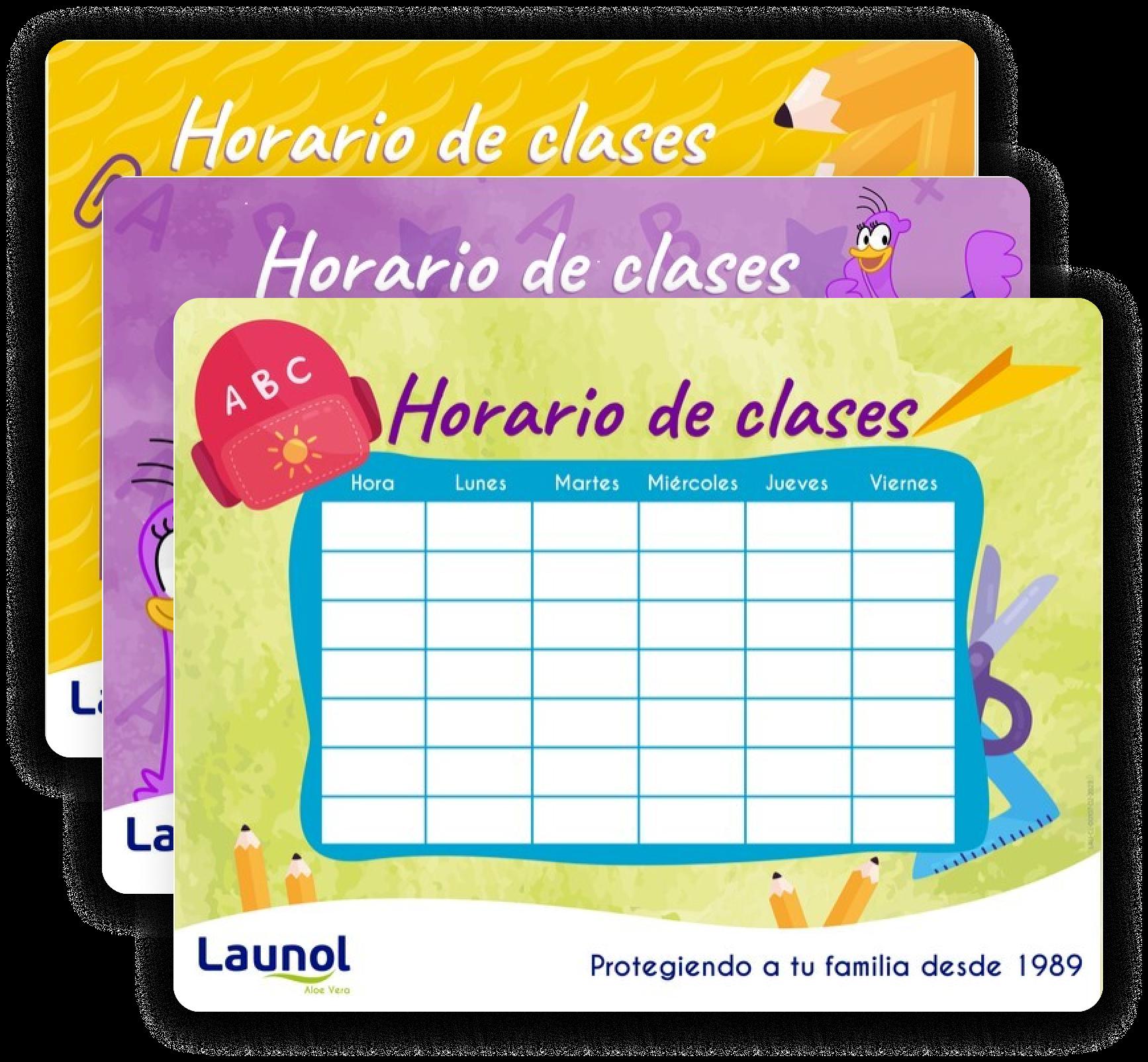 Horario Launol